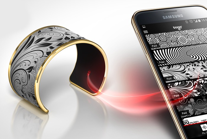 Tago Arc E Ink Smart Bracelet