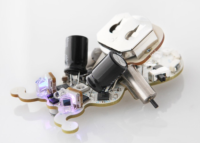 Tiny ringo arduino robot unveiled video