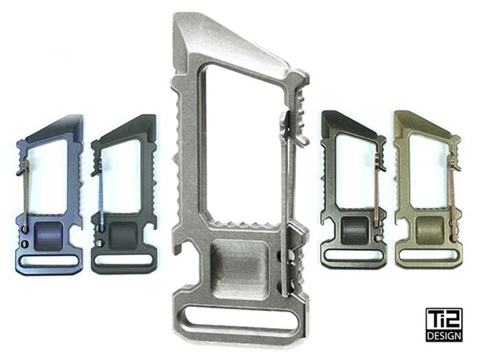 Titanium Utility Carabiner