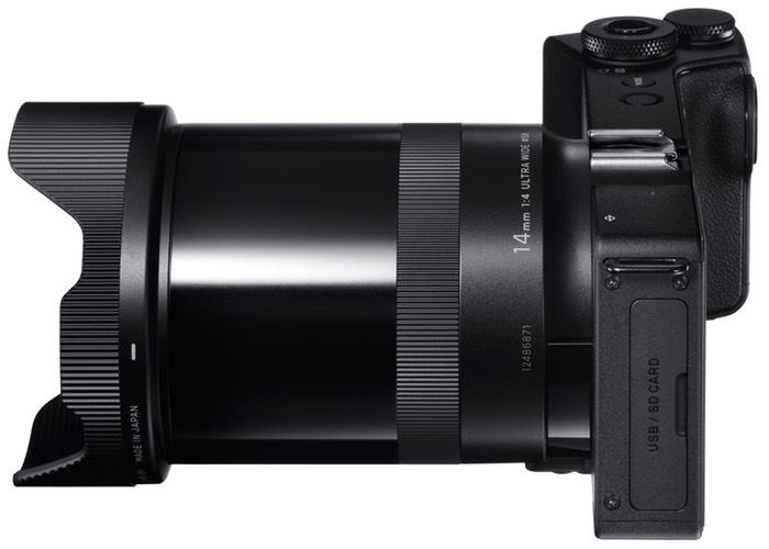 dp0 Quattro Compact Digital Camera