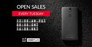 OnePlus One Will Be Made Available Every Tuesday