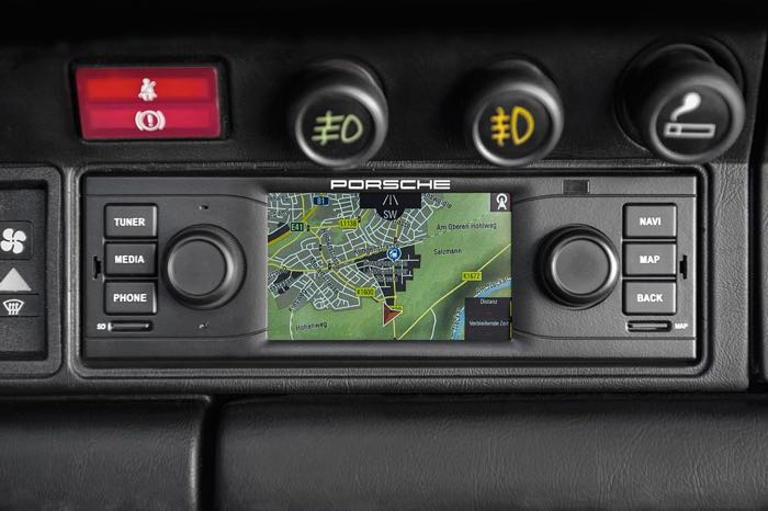 Porsche Classic Brings Sat Nav To Your Classic 911