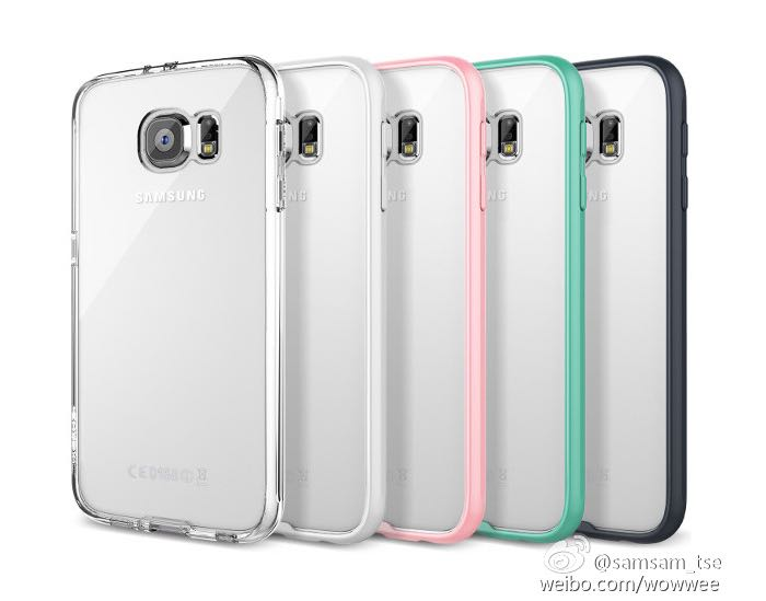 Samsung Galaxy S6 Design Revealed By Clear Cases