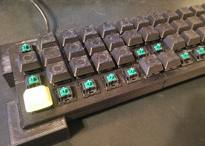3D Printed Mechanical Keyboard