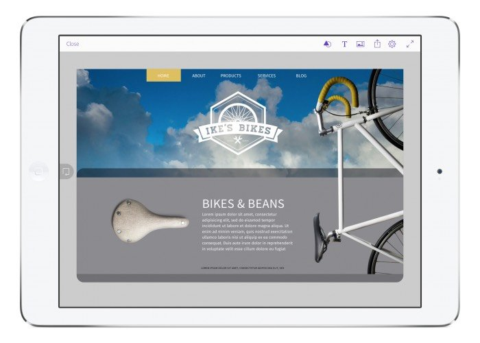 Adobe Comp CC IPad App Let You Create Layouts On The Go