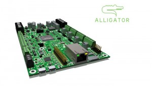 Alligator Board Professional 3D Printer Control Board Launches On Indiegogo (video)