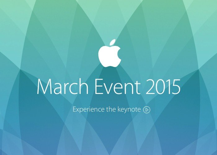 Apple Keynote 2015