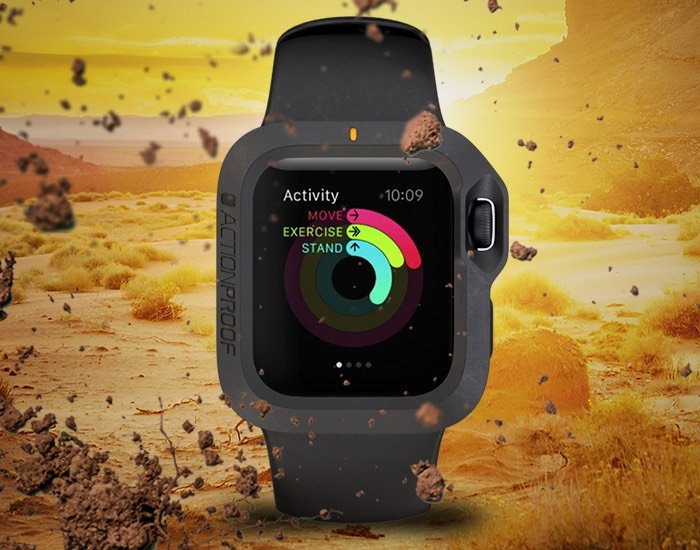 Apple Watch Bumper Case Offers Extra Protection For Your Smartwatch (video)