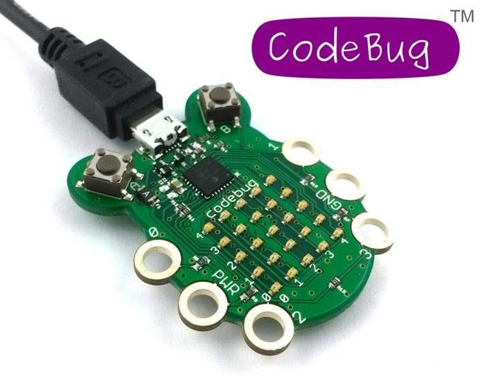 CodeBug Wearable Development Board