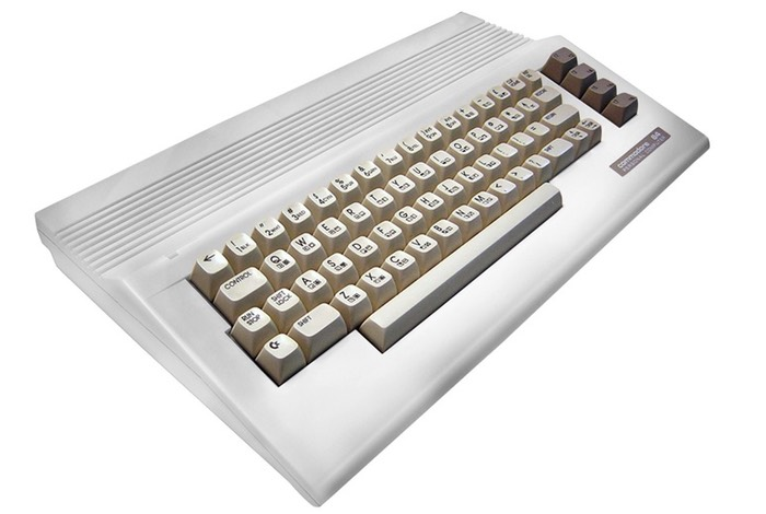Commodore 64C-white