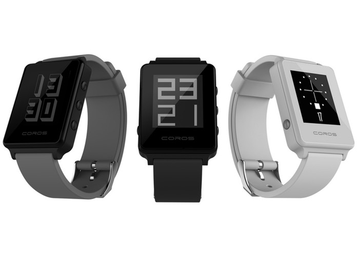 Coros LIVE e-Paper Waterproof Smartwatch Offers A 6 Week Battery Life (video)