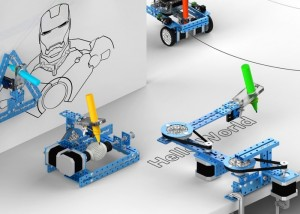 mDrawBot 4-in-1 Arduino Drawing Robot Launches On Kickstarter (video)