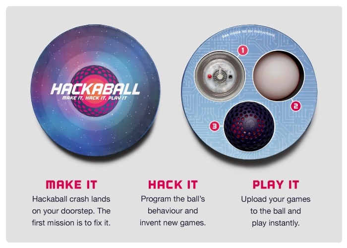 Hackaball The Programmable Throwable Computer Ball