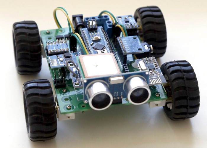 Hackabot nano plug and play arduino robot kit unveiled