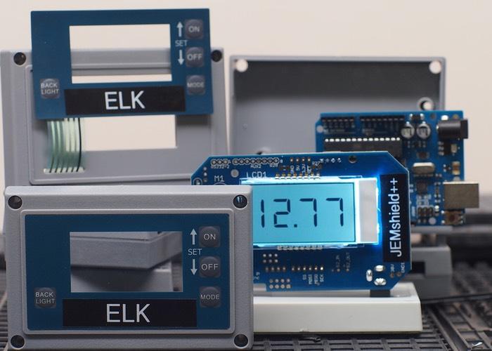 LCD, Keypad, Enclosure Expansion Shield For Ardiuno