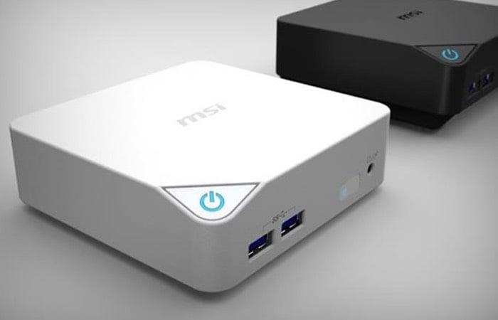 Msi Cubi Broadwell Powered Mini Pc Launches