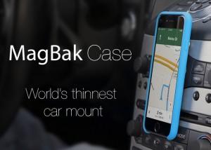 MagBak Ultra Thin Smartphone Mount (video)