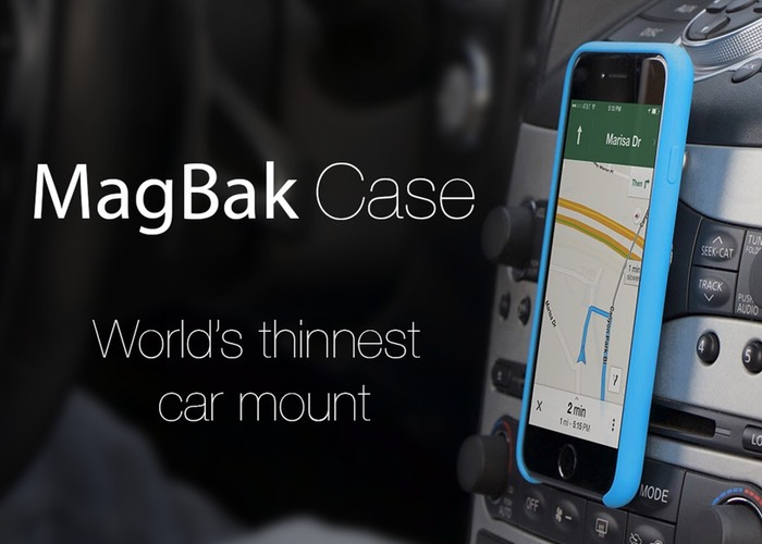 MagBak Ultra Thin Smartphone Car Mount