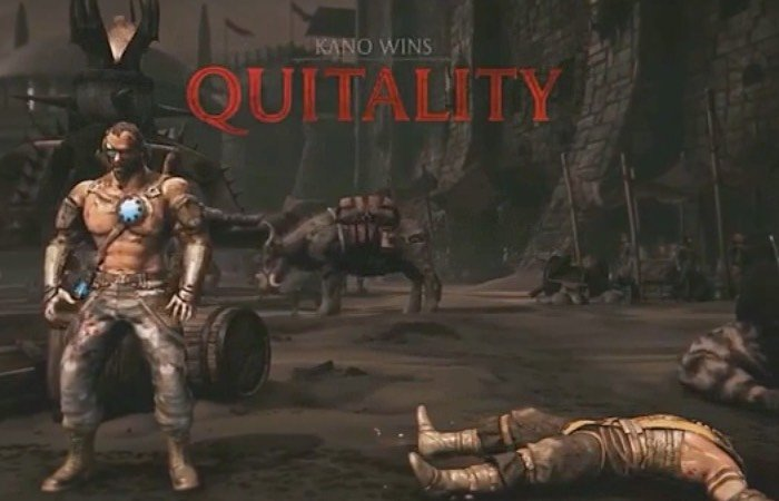 Mortal Kombat X Quitality Trailer
