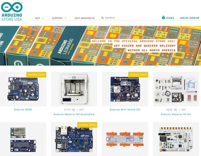 New Arduino Store