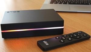 Raspberry-Pi Slice Media Player