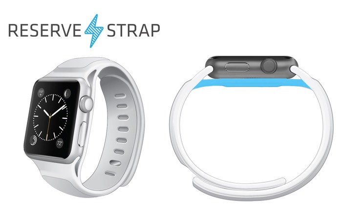 Reserve Strap Extends Apple Watch Battery Life