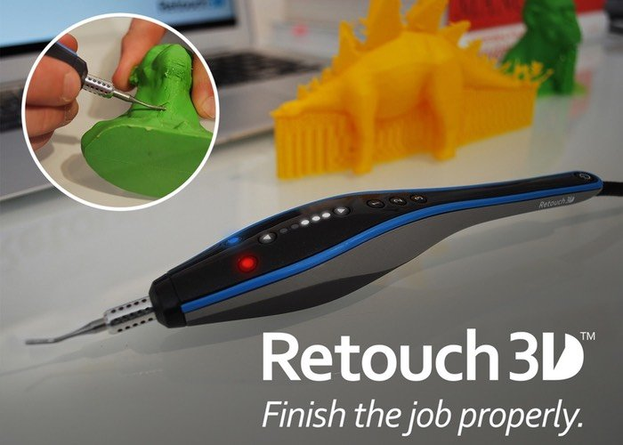 Retouch3D Finish Tool For 3D Prints