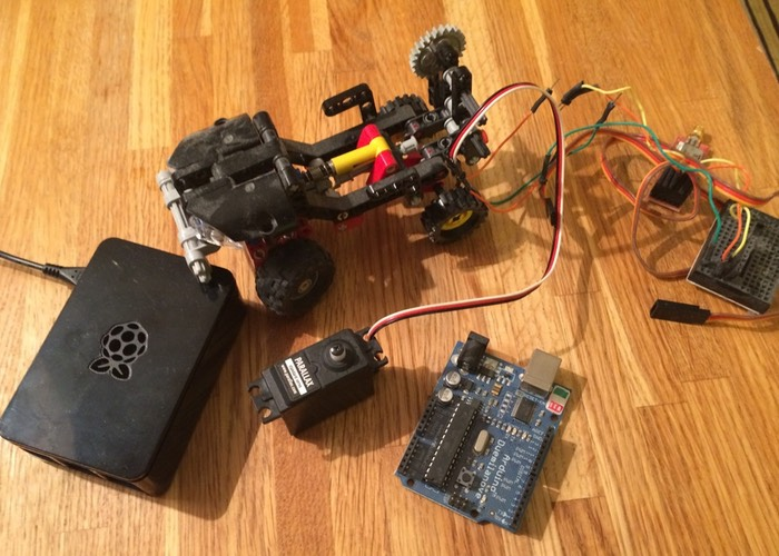Robot Pi API Designed For Arduino And Raspberry Pi Mini PCs (video)