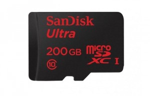 SanDisk 200GB microSD Card Unveiled For $400