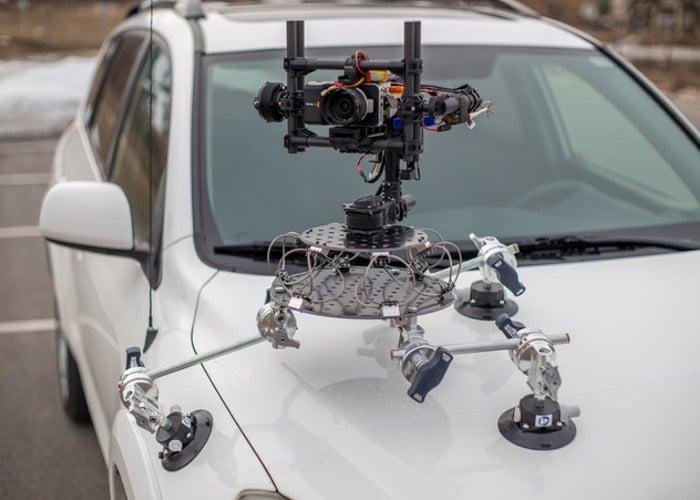 Stabilised Camera Gimbal