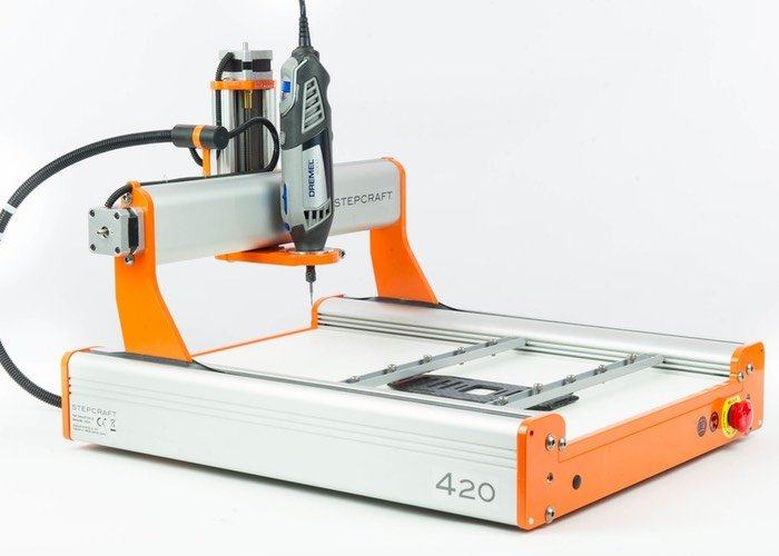 Stepcraft 2 Universal Desktop CNC Machine And 3D Printer