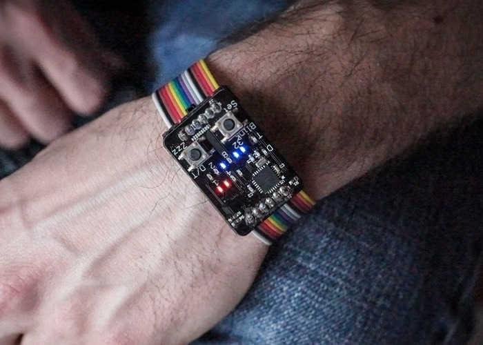 The Binary Wristwatch Created For $35 (video)