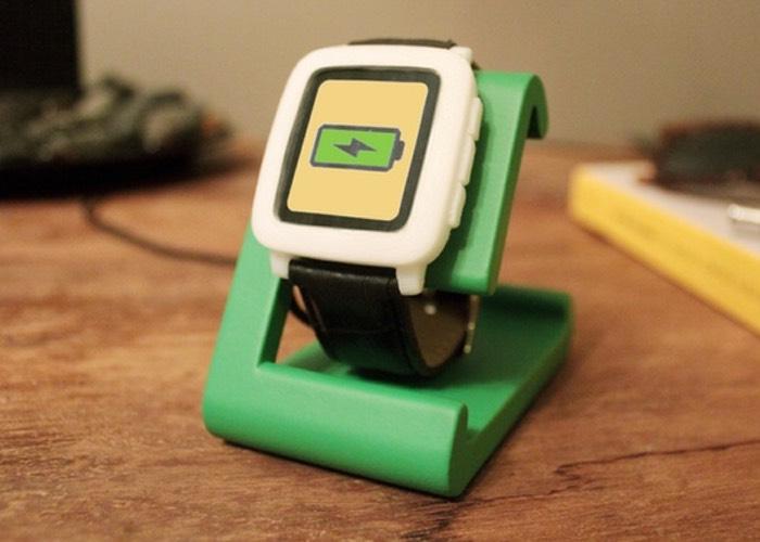 TimeDock Pebble Smartwatch Charging Station
