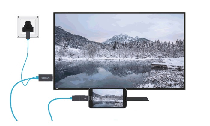 UltraHD 4K HDMI video out cable