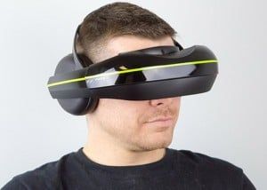 New IWear 720 Video Headphones Provide Virtual Reality Viewing