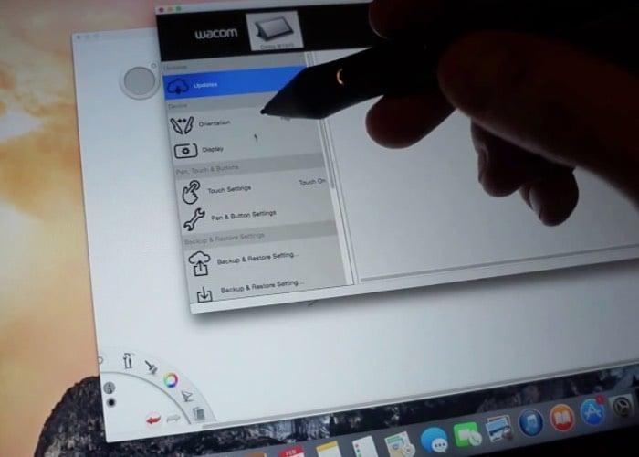 Wacom Cintiq Hacked To Run OS X Yosemite (video)