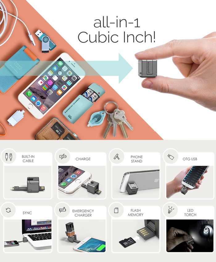 Wondercube Offers 8 Mobile Essential Smartphone