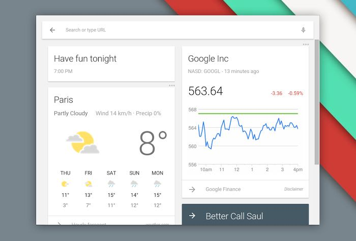 Chrome OS Beta Comes With Google Now And New Launcher