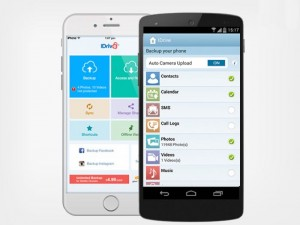 iDrive Unlimited Mobile Backup Lifetime Subscription For Just $10, Save 79%
