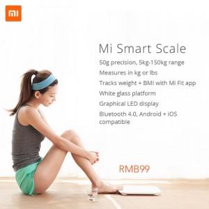 Xiaomi Mi Smart Scale Announced