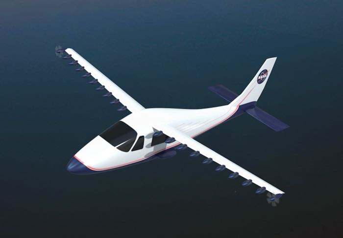 nasa electric plane