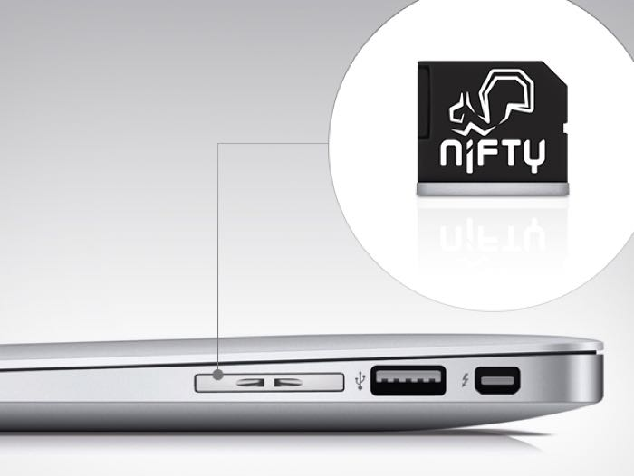 nifty macbook mini drive