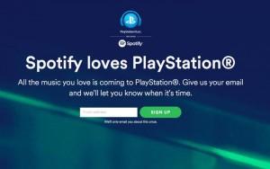 playstation 4 spotify