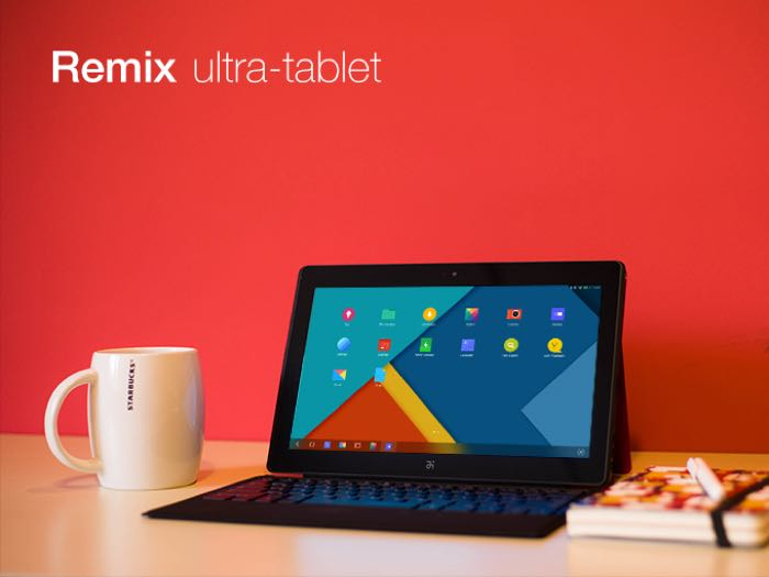 remix android tablet