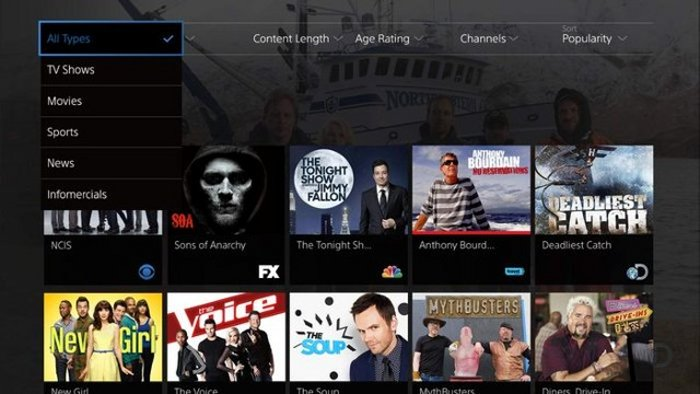 Sony to launch PlayStation Vue Internet TV streaming service in two weeks