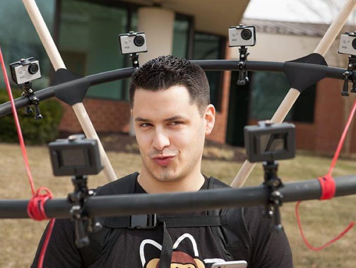 360 selfie rig