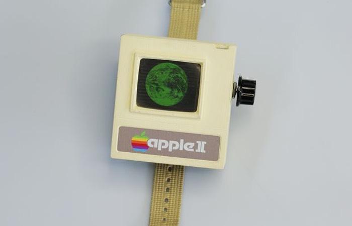 3D Printed Apple II Watch