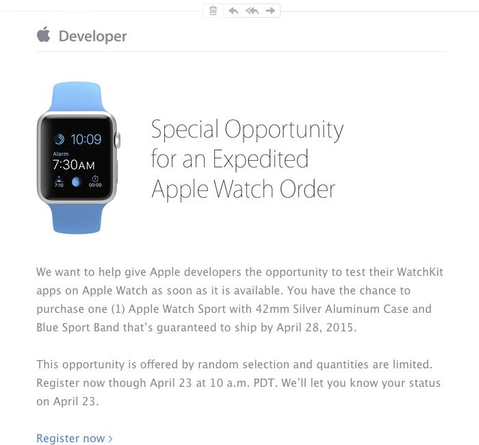 Apple Watch Developers