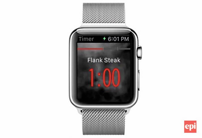 Apple Watch Epicurious Cooking App