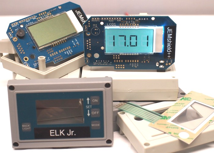 Elk junior arduino uno case includes keypad lcd